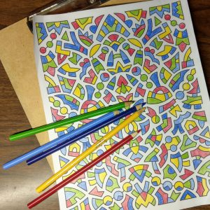 Coloring page by inklaura